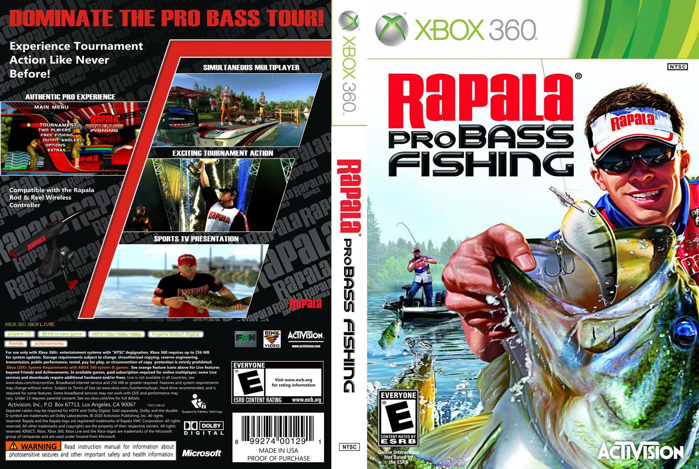 Rapala pro bass fishing xbox360 z0300 bem vindo a for Fishing games for xbox 360